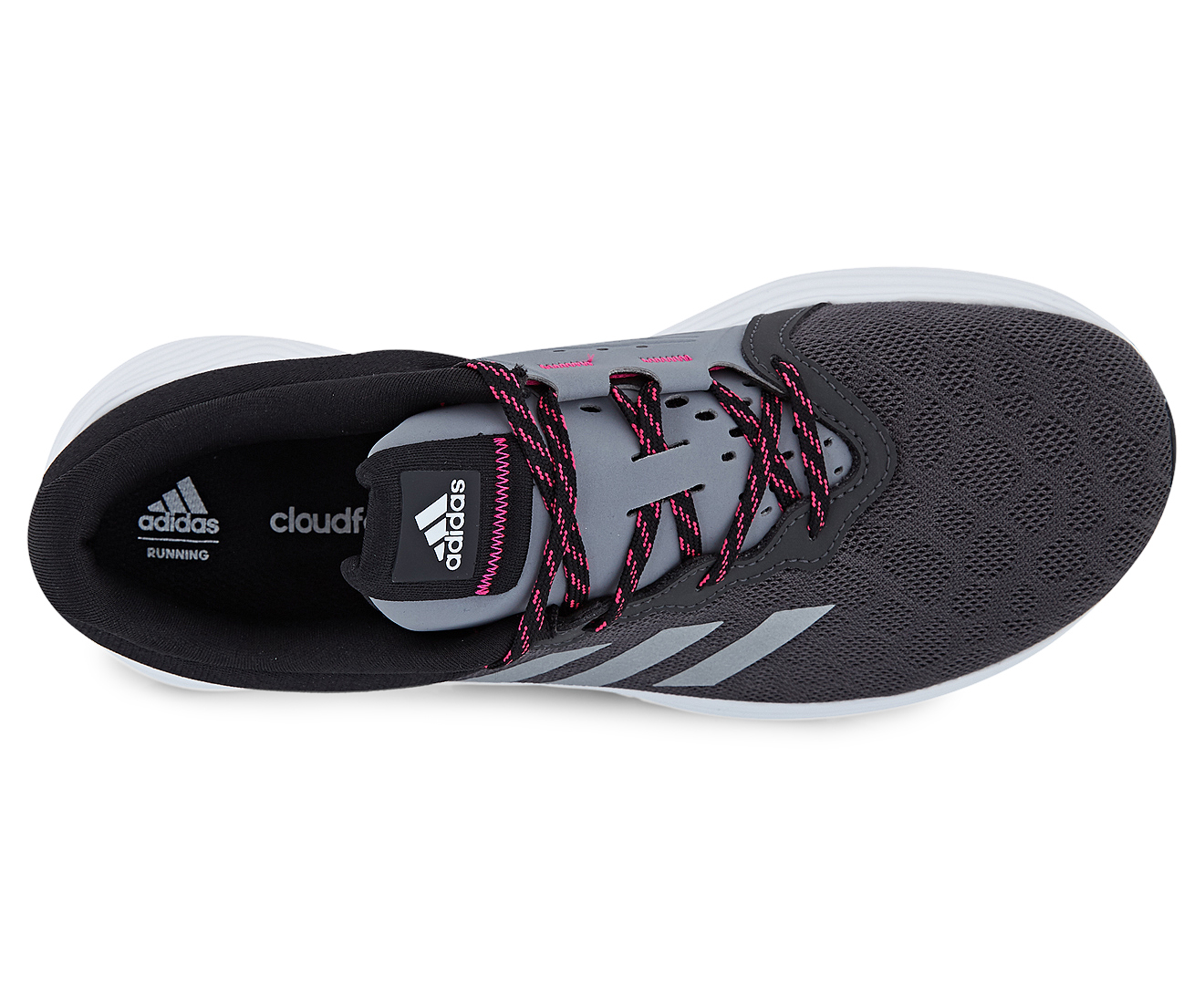 Adidas Women s Fluid Cloud Running Shoe - Solid Grey Silver Metallic Core  Black  06fe0c072