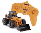 Lenoxx RC 6-Channel Die-Cast Bulldozer Toy 1