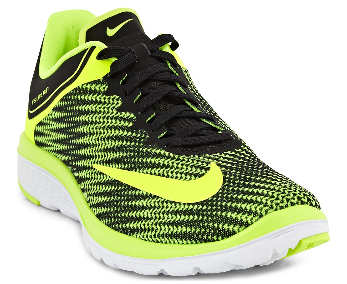 info for 20e4a b7646 Nike Men's FS Lite Run 4 Premium Shoe - Volt/Volt-Black-White