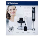 Westinghouse 800W Stick Mixer - Black/Brushed Stainless Steel 6