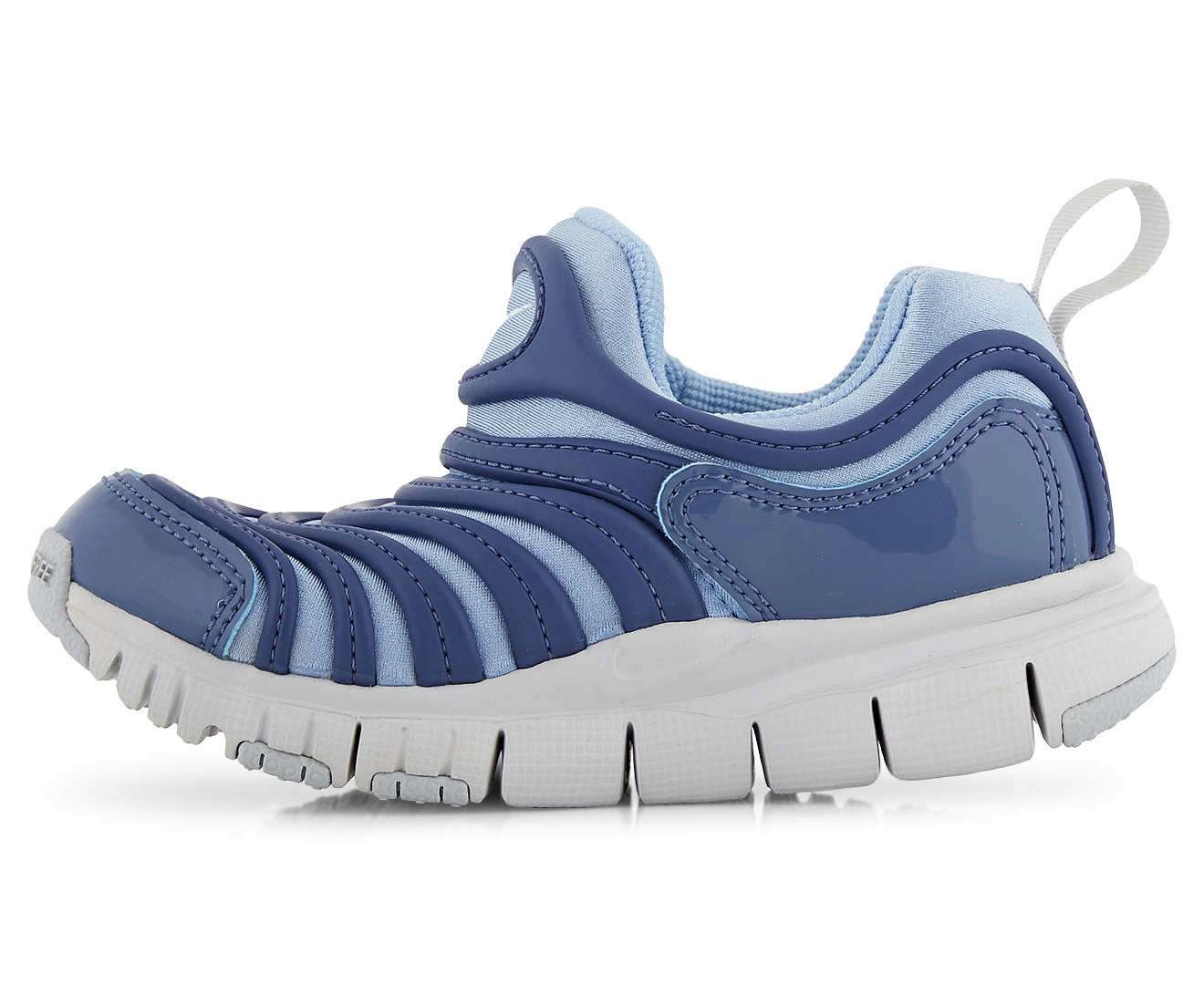 43e4eb5820056 Nike Girls  Pre-School Dynamo Free (PS) Shoe - Aluminium Pure Platinum