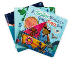 3-Pack Kids Books - Star Light, Star Bright, Rock-A-Bye Baby & A Sailor Went to Sea, Sea, Sea 2