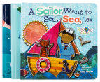 3-Pack Kids Books - Star Light, Star Bright, Rock-A-Bye Baby & A Sailor Went to Sea, Sea, Sea 3