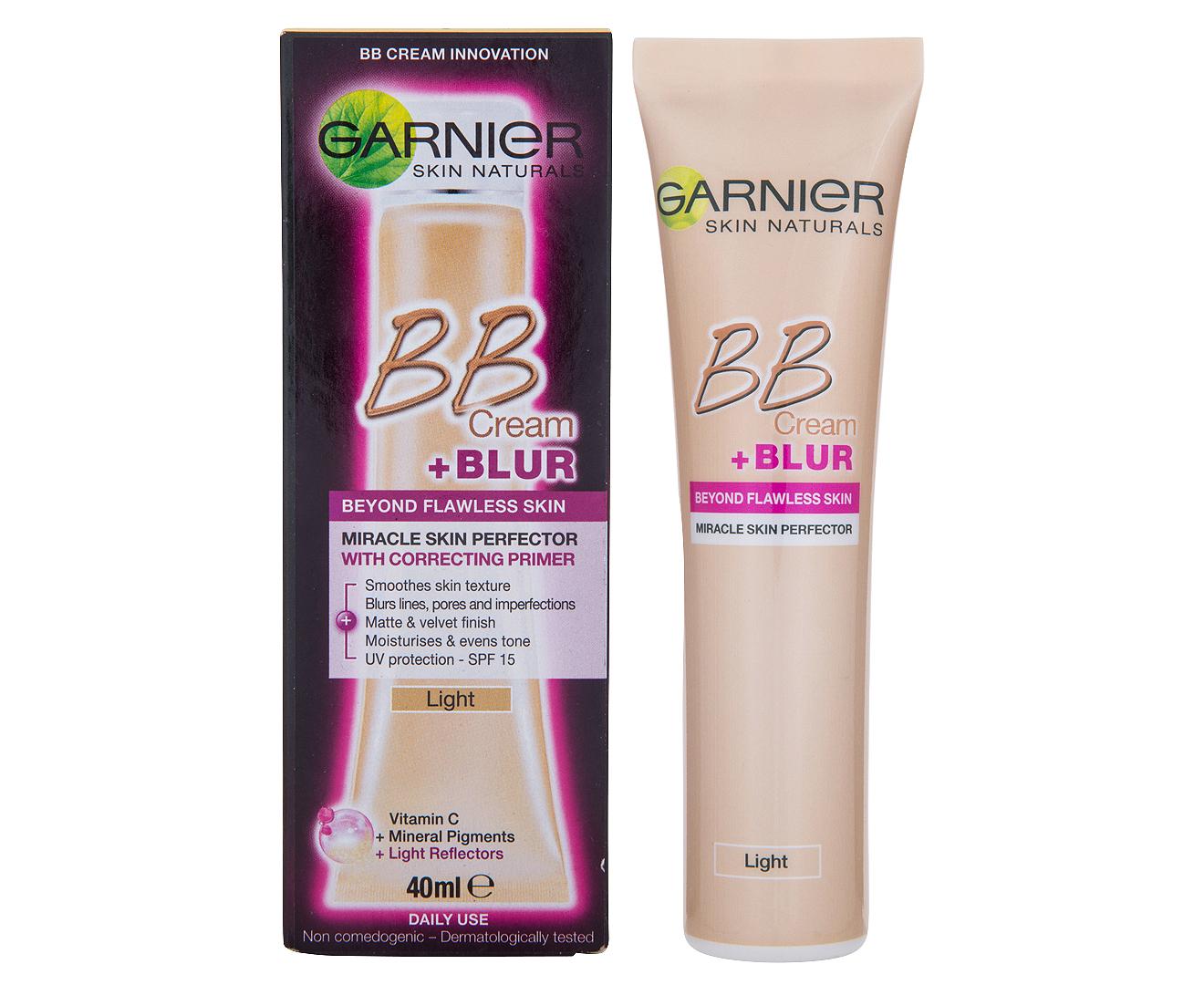 Garnier bb cream blur miracle skin perfector 40ml for Bb shopping it