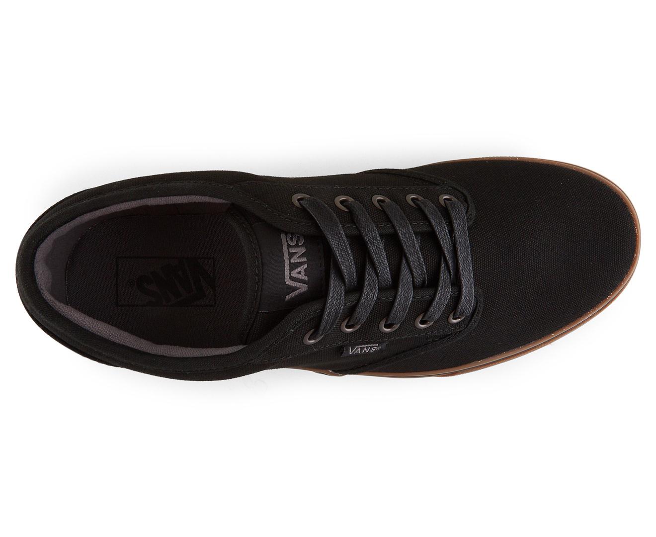 414d5d7d1bb87 Vans Men s Atwood 12oz Canvas Shoe - Black Gum