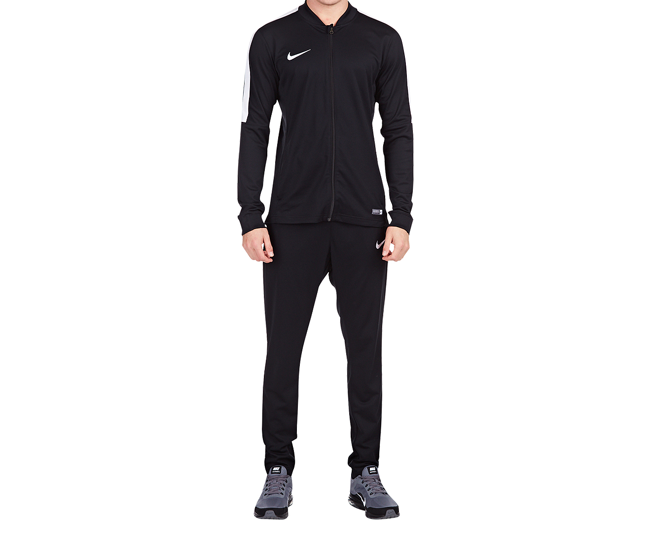 Nike Men s Academy 16 Knit Tracksuit - Black White  0547d568a99e