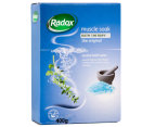 2 x Radox Muscle Soak Herbal Bath Salts 400g 2