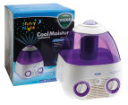 Vicks Starry Night Cool Moisture Humidifier - White/Purple 1