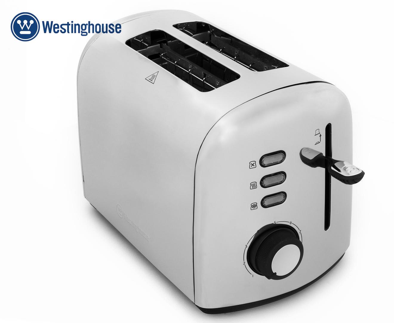 TSK 2575 Stainless Steel 2 Slice Household Full Automatic Breakfast Toaster