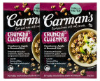 2 x Carman's Crunchy Clusters Cranberry, Apple & Roasted Nut 500g 1