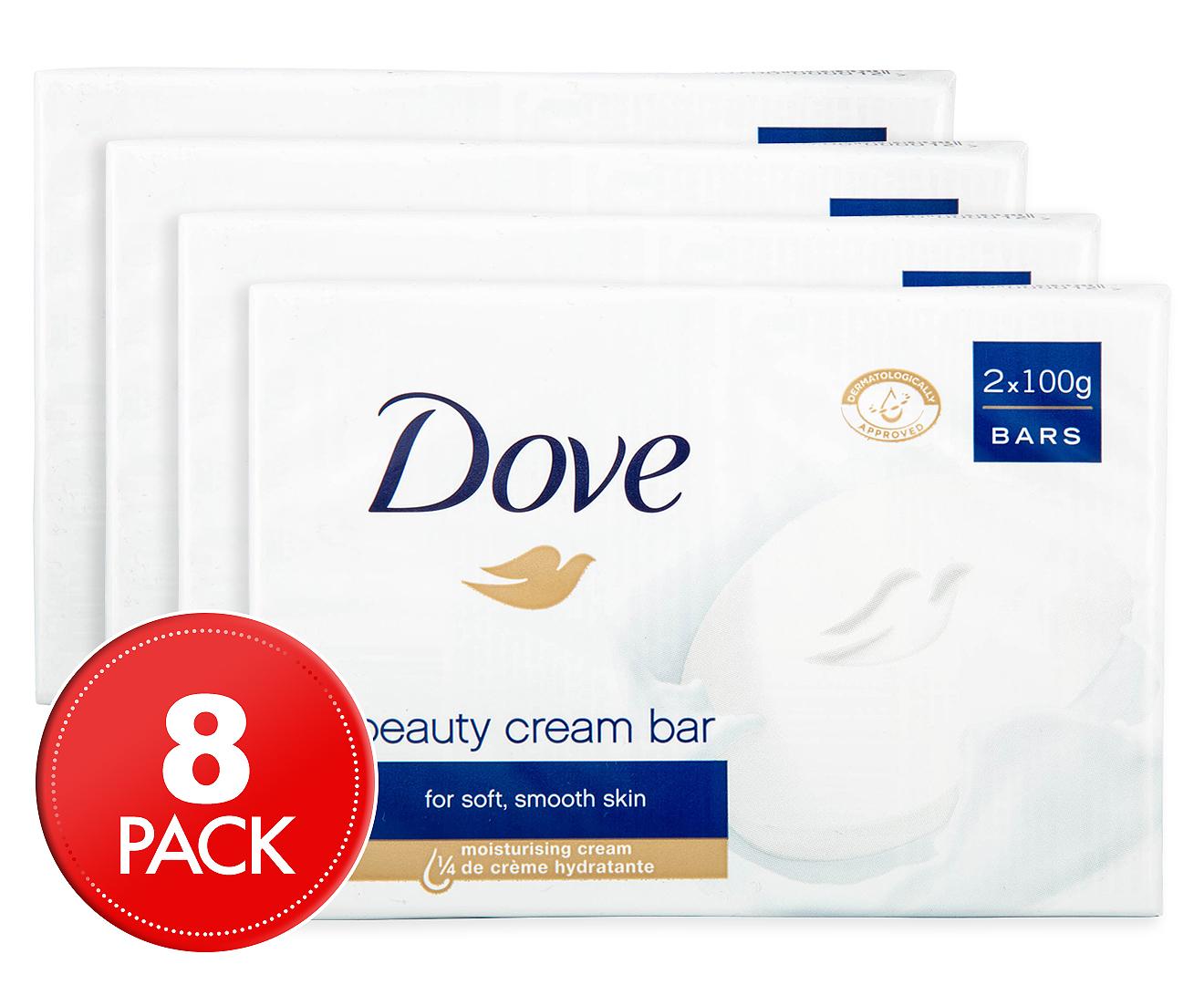 4 x Dove Beauty Cream Bar 2pk