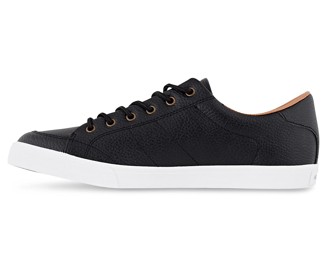 Kustom Kramer Black Leather Shoes