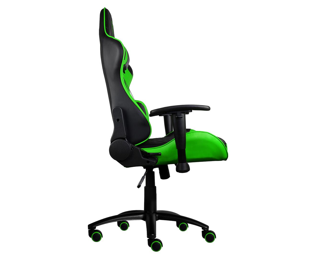 Fantastic Thunderx3 Tgc12 Gaming Chair Black Green Pdpeps Interior Chair Design Pdpepsorg