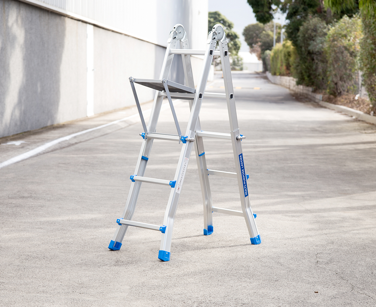 Little Giant Multi Folding Ladder Work Platform Great