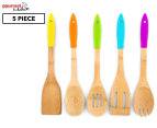 Gourmet Kitchen 5-Piece Utensil Set - Multi 1