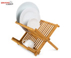 Gourmet Kitchen Bamboo Dish Rack 1