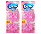2 x Bloo Flowers In Cistern Pink Water 2pk 1
