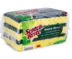 3M Scotch-Brite Heavy Duty Scrub Sponges 3pk 2