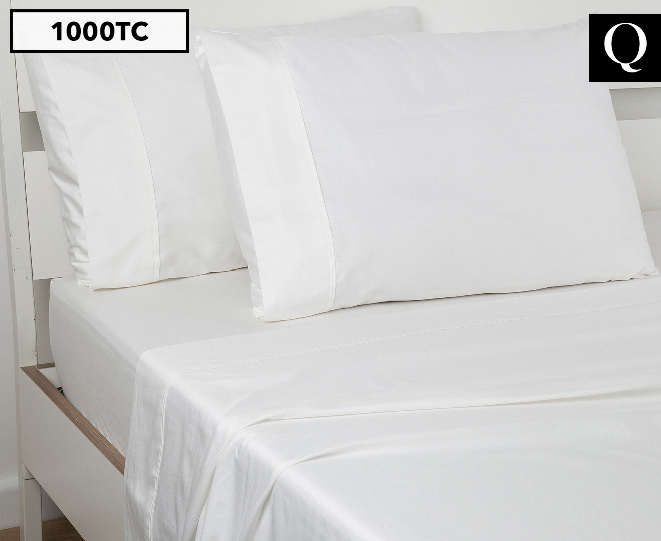 About white 1000tc egyptian cotton complete bedding collection sheet - Next Linen 1000tc 100 Egyptian Cotton Queen Bed Sheet Set White