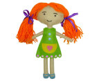 Craft for Kids Red-Haired Felt Girl Kit 4