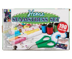 190-Piece Home Seamstress Set w/ Bonus Travel Case  1