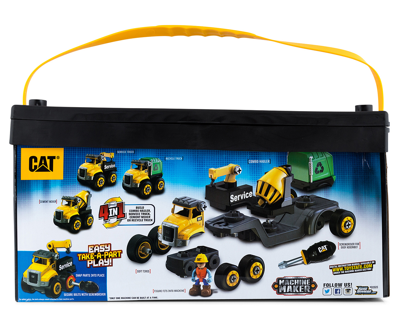 Cat Toy Truck With Screwdriver