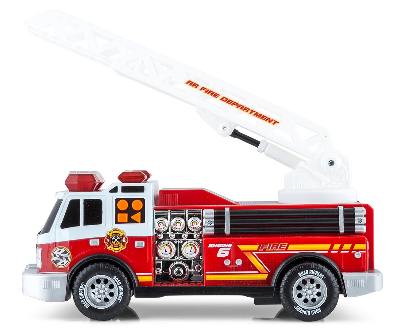 Road Rippers Rush Amp Rescue Fire Truck Toy Catch Com Au