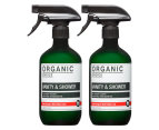 2 x Organic Choice Vanity & Shower Cleaner Blood Orange & West Indian Lime 500mL 1