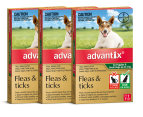 3 x Advantix For Puppies & Small Dogs Up To 4kg 1