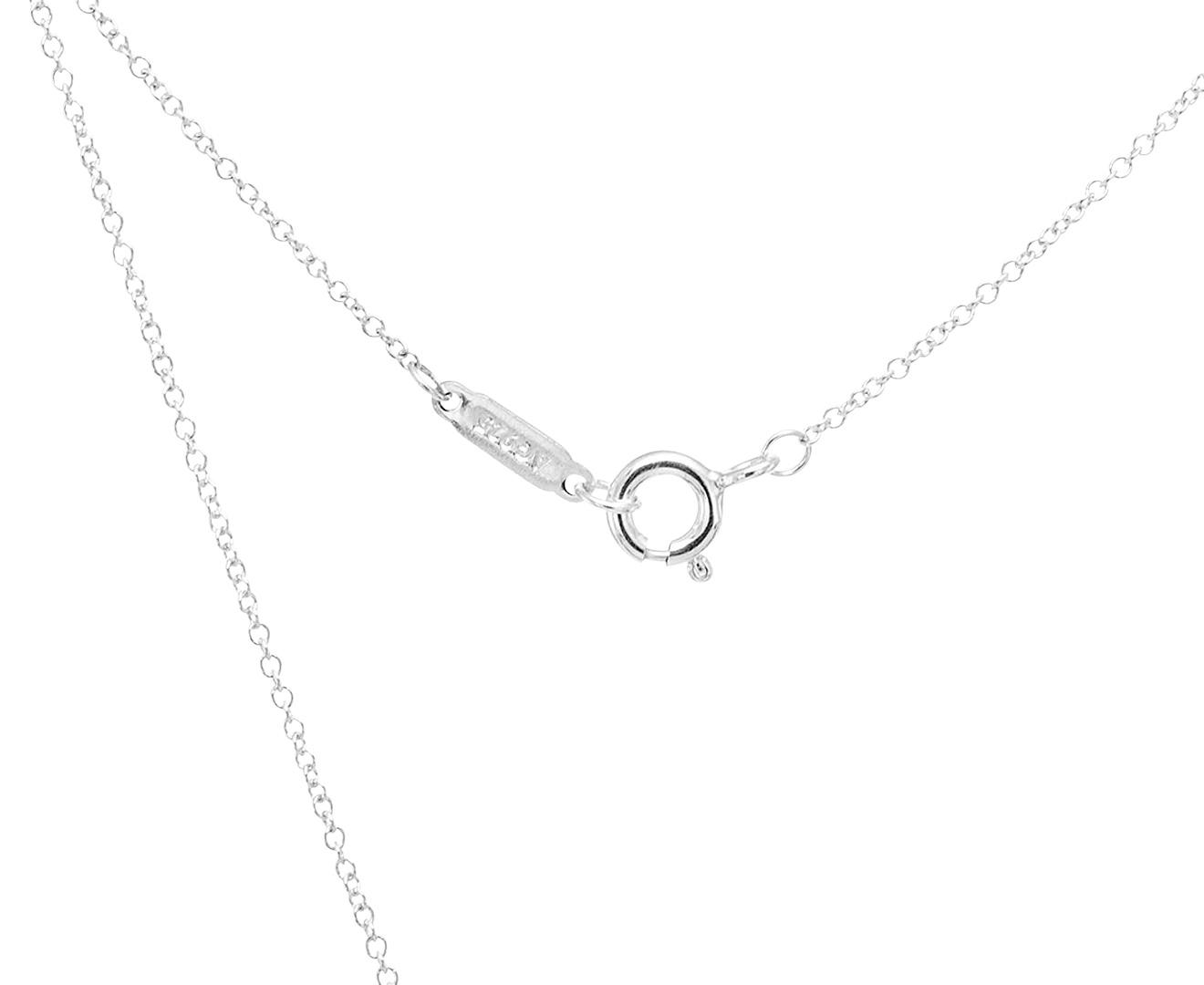 0261e5180 Tiffany & Co. Paloma's Venezia Luce Pendant w/ Chain - Silver | Catch.com.au