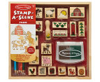 Melissa & Doug Stamp-A-Scene Farm Set 1