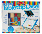 Melissa & Doug Deluxe Double-Sided Magnetic Tabletop Easel 1