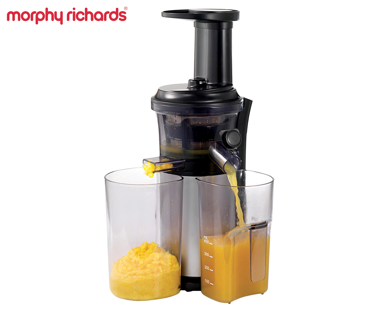 Morphy Richards Slow Juicing Press - Black/Clear eBay