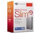 Seagate 1TB Backup Plus Slim Portable Hard Drive - Grey 6