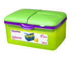 Sistema 2L Quaddie Lunchbox 4-Pack - Assorted 3