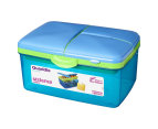Sistema 2L Quaddie Lunchbox 4-Pack - Assorted 5