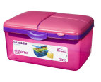Sistema 2L Quaddie Lunchbox 4-Pack - Assorted 6