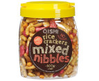 OISHI Mixed Nibbles Rice Crackers 500g 1