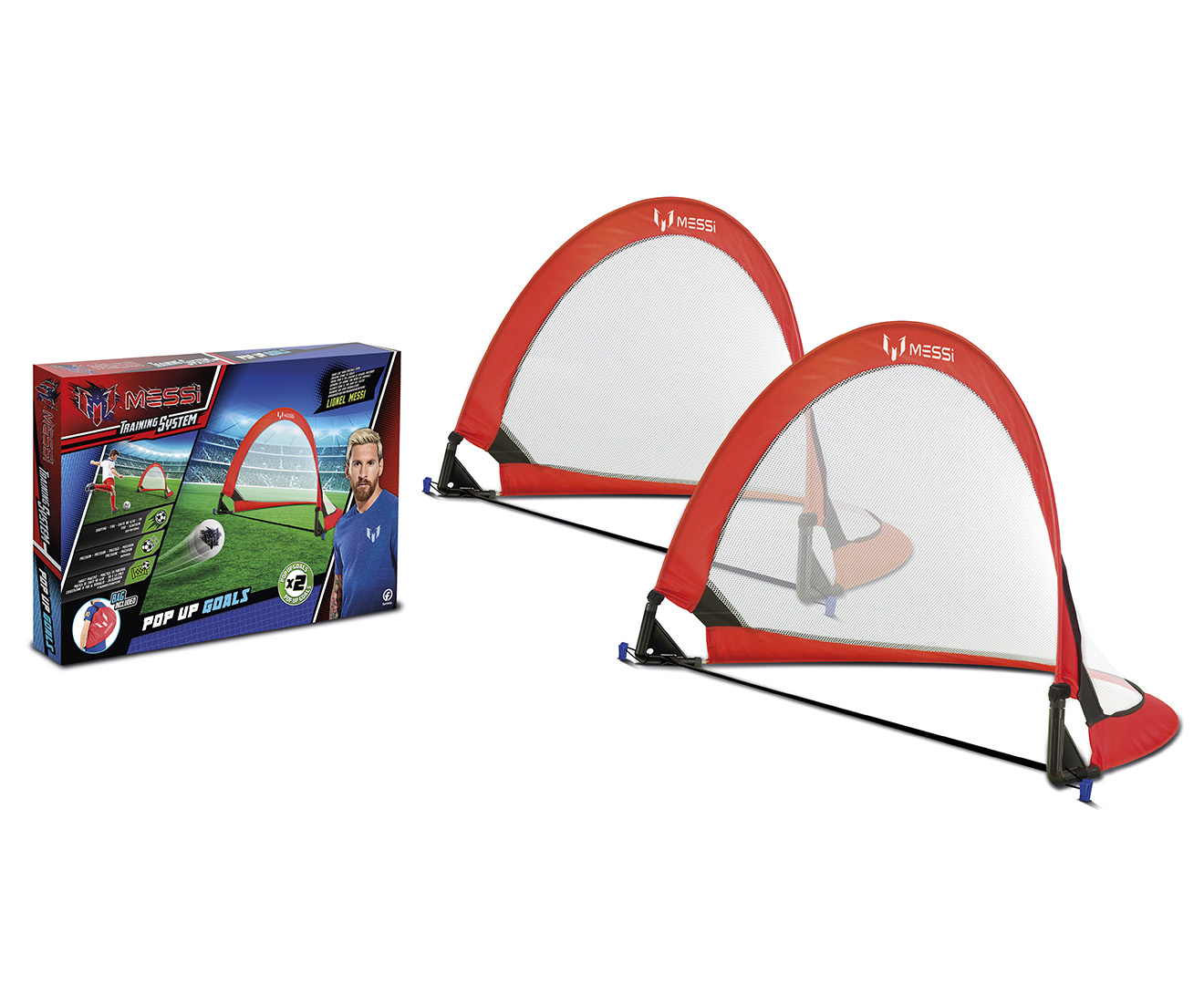1ee65c091 Messi Training System Pop Up Goals 2-Pack | Catch.com.au