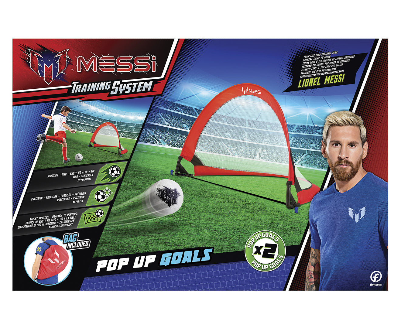 cd4d5720a Messi Training System Pop Up Goals 2-Pack | Catch.com.au