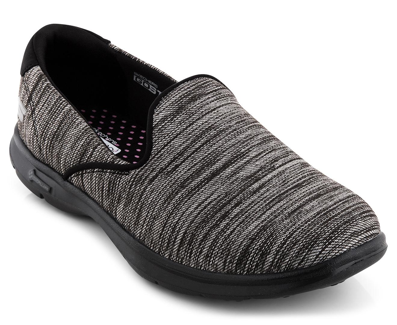 Skechers Women S Gostep Limitless Shoe Black Scoopon