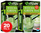 2 x Ito En Sweet Matcha Green Tea 10pk 1