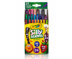 Crayola Silly Scents Mini Twistables Crayons 24-Pack - Assorted 1