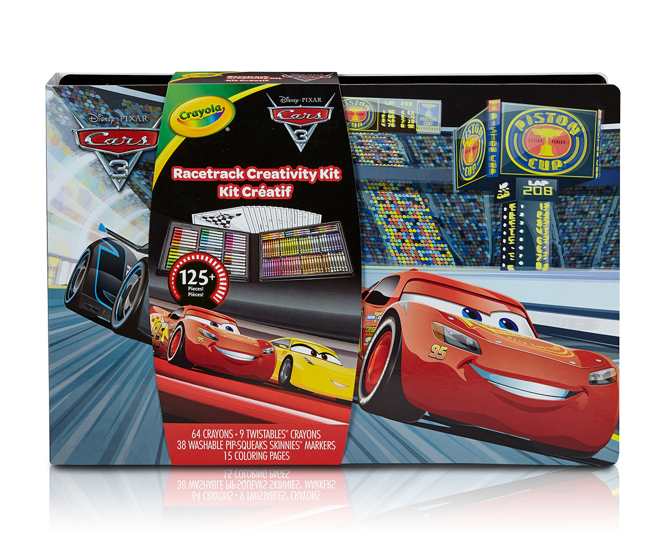 crayola disney cars 3 racetrack creativity kit catch com au