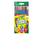 Crayola Silly Scents Mini Twistables Crayons 24-Pack - Assorted 2