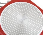 Westinghouse 26cm Griddle Pan - Red 5