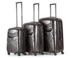Star Wars Hardshell Kylo Ren 3-Piece 4W Luggage Set - Charcoal 1