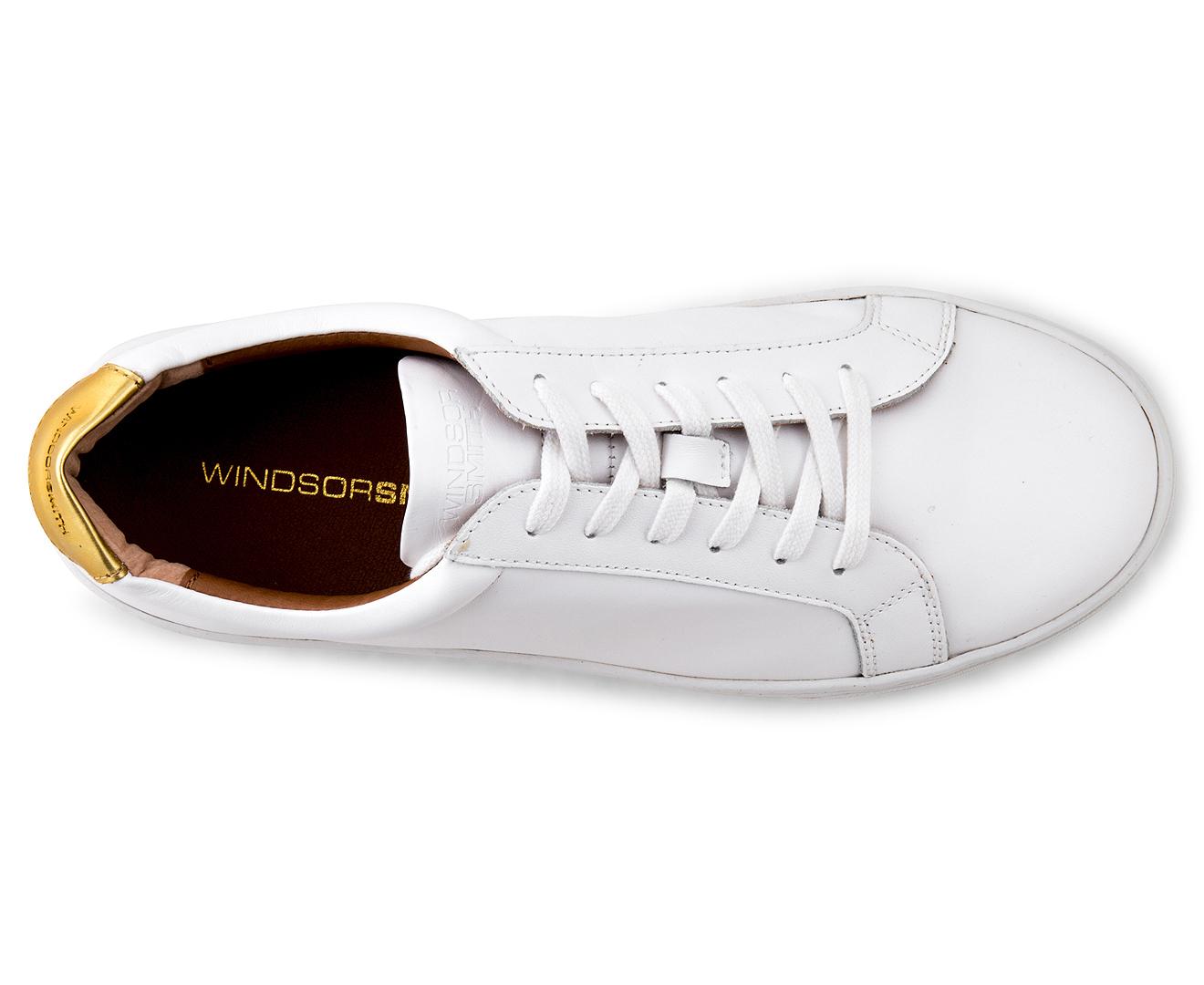 Sawyer Shoes White Windsor Smith