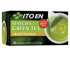 4 x Ito En Matcha Green Tea Traditional 20pk 3