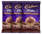 3 x Cadbury Milk Chocolate Baking Melts 225g 1